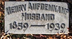 Henry Aufdemkamp