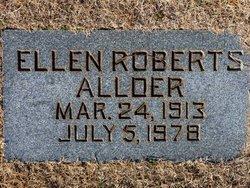 Ellen <i>Roberts</i> Allder
