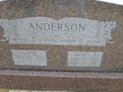 Alyene <i>Hammack</i> Anderson