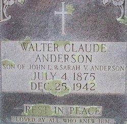 Walter Claude Anderson