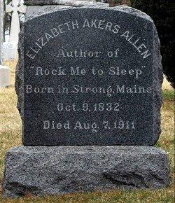 Elizabeth Anne <i>Chase</i> Akers Allen