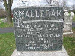 Margaret Ann <i>Snyder</i> Allegar