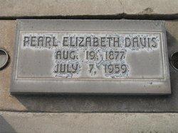 Pearl Elizabeth <i>Porter</i> Davis