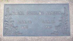 Pearl Shields Parker