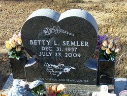 Betty Laverne <i>Turner</i> Semler