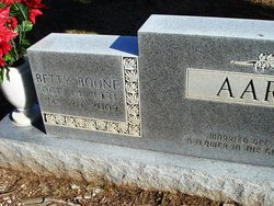 Betty Blanche <i>Boone</i> Hall Aaron Abbott