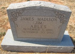 James Madison Ables