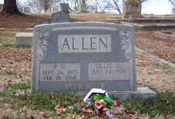 Ollie Jane <i>Lovelace</i> Allen