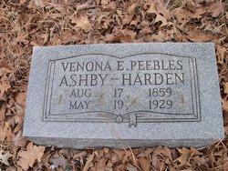 Venora E. <i>Peebles</i> Ashby