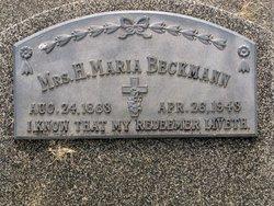 Johanna Maria Sophia Marie <i>Stutheit</i> Beckmann