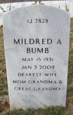 Mildred A. Tootsie <i>Burroughs</i> Bumb