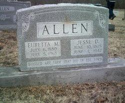 Euretta May <i>Kirkpatrick</i> Allen
