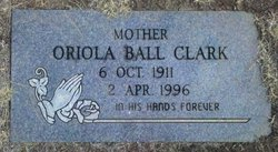 Florence Oriola Oriola <i>Ball</i> Clark
