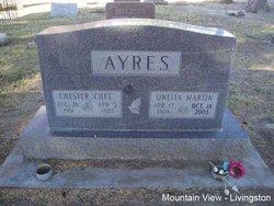 Oneita <i>Martin</i> Ayres