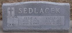 Elsie A <i>Dufek</i> Sedlacek