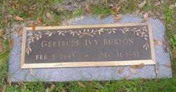 Gertrude Ivy Trudie <i>Smith</i> Burton