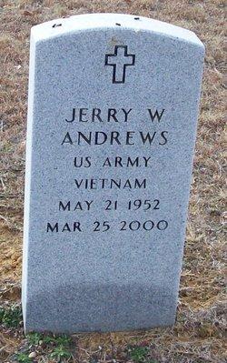Jerry W Andrews