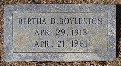 Bertha D <i>Riley</i> Boyleston