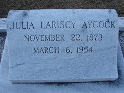 Julia <i>Lariscy</i> Aycock
