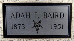 Adah L <i>Heckard</i> Baird