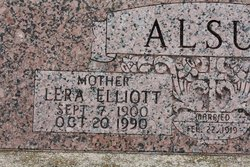 Lera Isabel <i>Elliott</i> Alsup