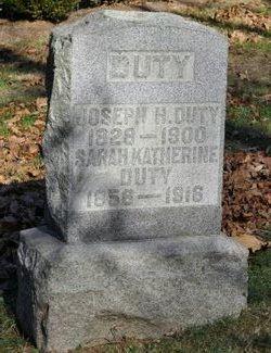 Joseph Harrison Duty