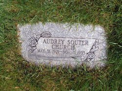 Florence Audrey <i>Souter</i> Church