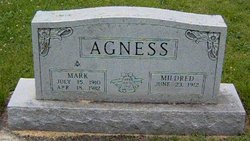 Mildred T <i>Hostetler</i> Agness