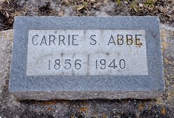 Carrie S. <i>Spencer</i> Abbe