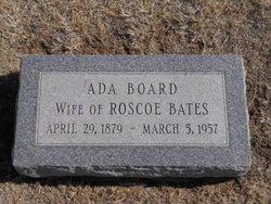 Ada <i>Board</i> Bates