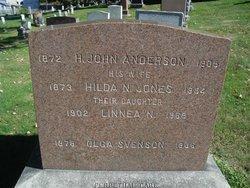 Hilda N <i>Jones</i> Anderson