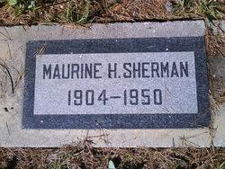 Maurine <i>Hillier</i> Sherman