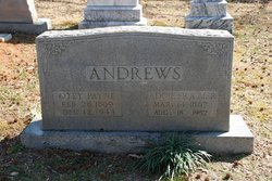 Addie Idella <i>Frazier</i> Andrews