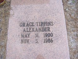 Grace <i>Tippins</i> Alexander