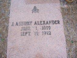 J Asbury Alexander