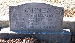 Rev Thomas Y. Barnes