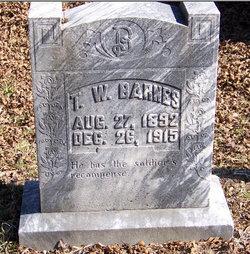 Thomas Watson Barnes