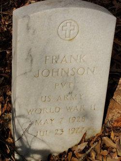 Pvt Frank Johnson