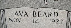Avary Lou Ava <i>Beard</i> Tiller