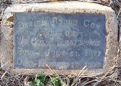 Daniel Boone Cox