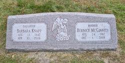Barbara Babs <i>McGinnity</i> Knapp