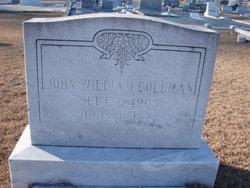 John William Coleman