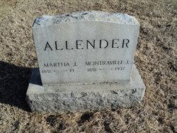 Martha J. Mollie <i>Pearce</i> Allender