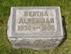 Bertha Alderman