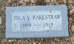 Zola V. Rakestraw