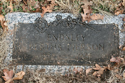 Bertha Irene <i>Pierson</i> Endsley