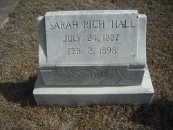 Sarah <i>Rich</i> Hall