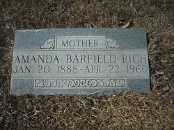 Catherine Amanda <i>Barfield</i> Rich
