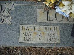 Hattie <i>Rich</i> Logue