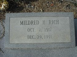 Mildred <i>Holder</i> Rich